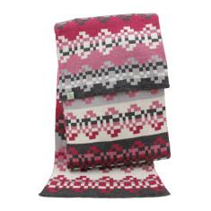 Pizza - extra fine Merino wool scarf