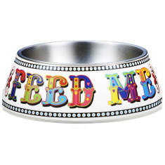 Gummi Pets pet bowl feed me carni folk design