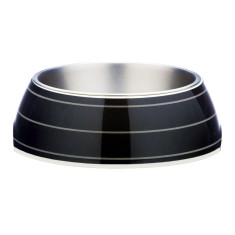 Gummi Pets pet bowl in jet black design