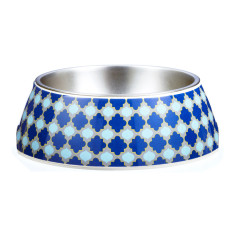 Gummi Pets pet bowl in Marrakesh Morocco-inspired design