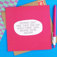 Awesome stepmum card