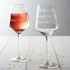 Mother's Day Measures Wine Glass