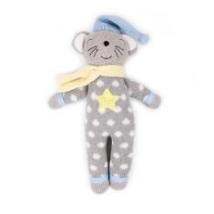 Weegoamigo Mouse Knit Toy