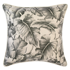 Outdoor cushion in Caribbean Ocean Grey (various sizes)