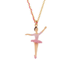 Pink Ballerina Necklace