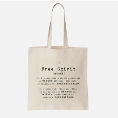 Free Spirit Organic Cotton Tote Bag