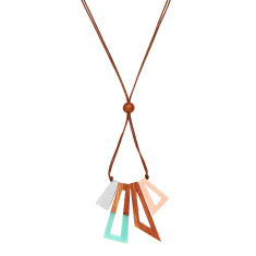 Sharp Shapes Necklace (various colours)