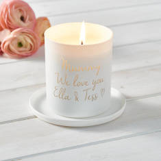 Personalised Love You Mummy Candle