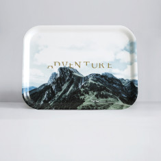 Adventure Handcrafted Birch Wood tray