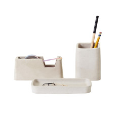 Areaware concrete desk set small