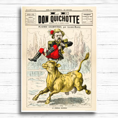 Don Quichotte Print
