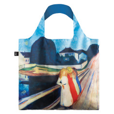 LOQI reusable bag in museum collection four girls on the bridge