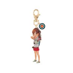 Bérangère The Archer Girl Key Ring