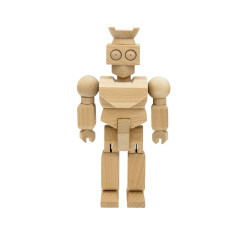 GyroBot wooden toy