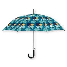 Umbrella with jungle flower print