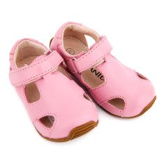 Sunday sandals in pink