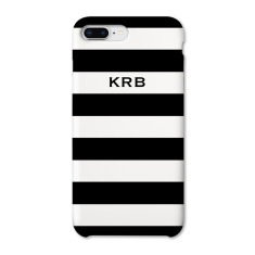 Striped Personalised Phone Case