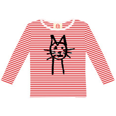 Kitty / kids long sleeve t-shirt
