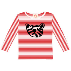 Baby tiger / kids long sleeve t-shirt