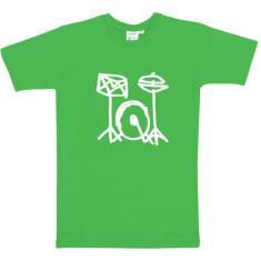 Drum kit boys t-shirt