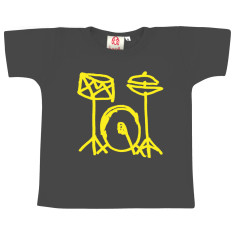Drum kit kids' t-shirt