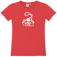 Camera / womens t-shirt