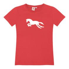 Carousel horse / womens t-shirt