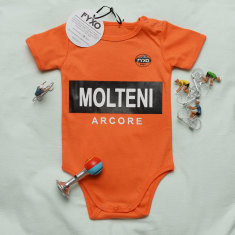 Molteni cycling legend baby onesie