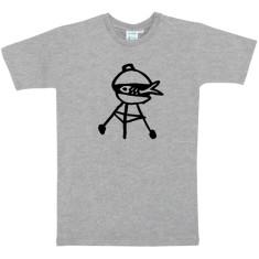Fish barbecue mens t-shirt