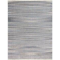 Sky Blue handmade flat weave rug