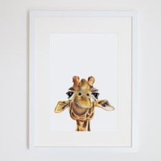 Toby the Giraffe print
