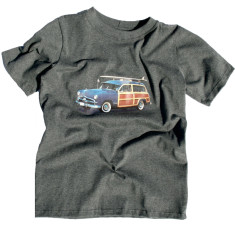 Beach car t-shirt