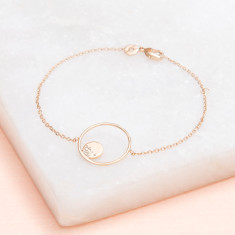 Personalised Cocoon Chain Bracelet
