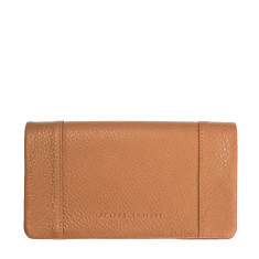 Some Type of Love leather wallet in tan