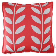 Coral leaf cushion cover (set of 2)