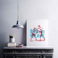 Bob and Weave Print