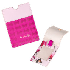Ted Baker womens luggage tag and passport holder set