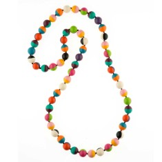 Wonderland 2 tone long necklace