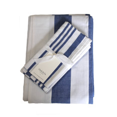 Striped napkins (set of 4)