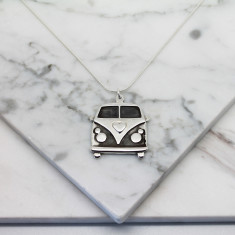 Kombi sterling silver necklace