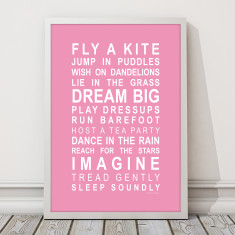 Dreams for Your Girl Print