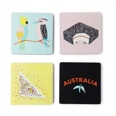 iconic wood coasters - Aussie