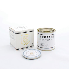 Code Manly Coffee Candle