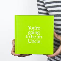 You're going to be an uncle book and gift