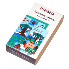 Primo Toys Adventure Pack Map & Story Book - Swarmy Swamp