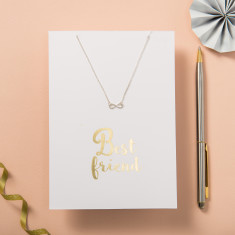 My Best Friend Card And Necklace Gift Set