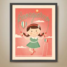 Buongiorno retro-inspired kids' print