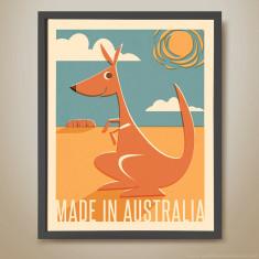 Made in Australia retro kids' print