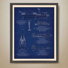 Thunderbirds spec diagram print