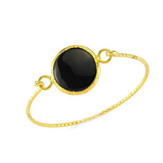 Onyx bangle by Michelle Caley